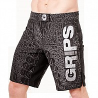 Grips Fightshort Croco Black