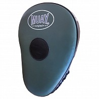 Muay Curved Coaching Mitt - Zwart/Legergroen
