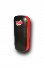 Ronin Arm striking pad leer - Zwart/Rood