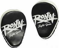 Ronin Coaching mitts curved - zwart/wit
