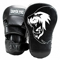 Super Pro Handpads Curved long - zwart