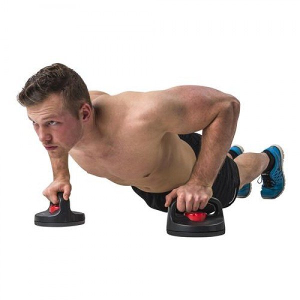 Tunturi Deluxe Push Up Stands Rotating