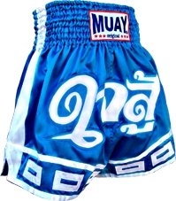 Muay short Fighters Heart Blue