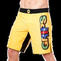 Grips Fightshort Croco Yellow