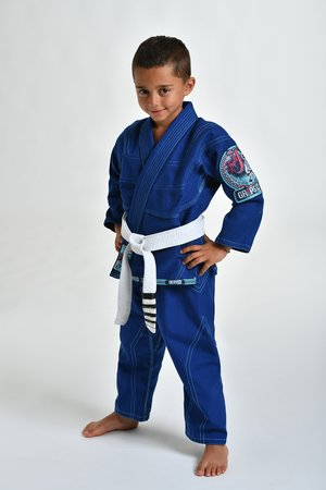 Gr1ps BJJ pak Kids Triple-J blauw