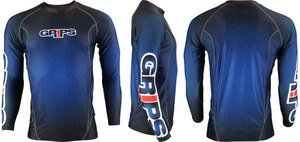 GRIPS Rashguard Long Sleeve Blue