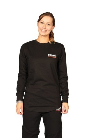 Muay® Sweater Fighting Spirit zwart