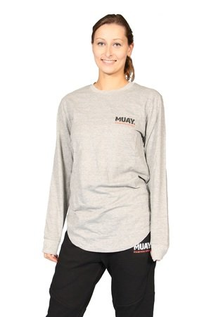 Muay® Sweater Fighting Spirit grijs