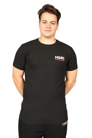 Muay T-shirt Fighting Spirit zwart