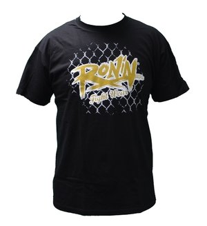 Ronin New Logo shirt Black/Gold