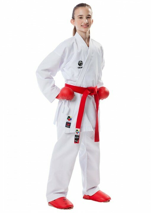 Tokaido Karatepak Kumite Junior - Wit