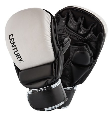 Century Creed Open Palm bokszakhandschoen - Zwart/Wit