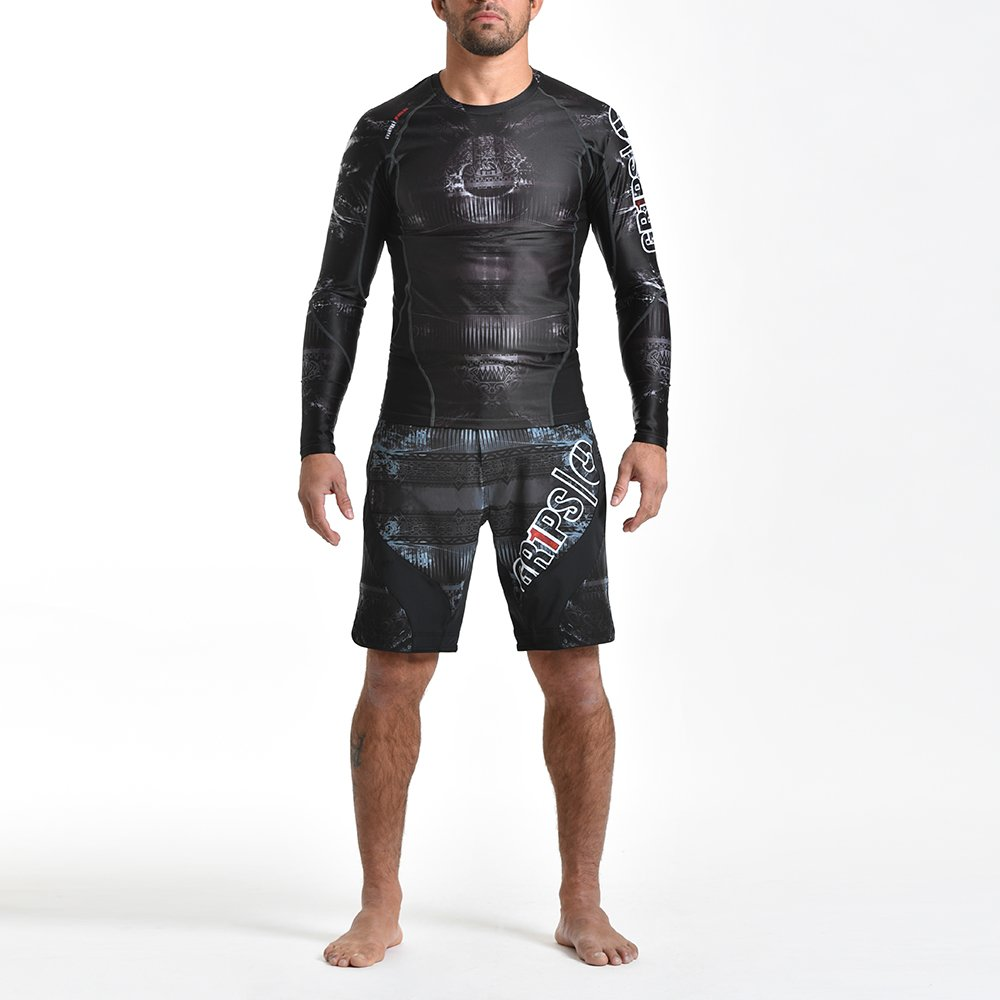 Grips® Armadura 2.0 Tribal Hunt Rashguard Long Sleeve