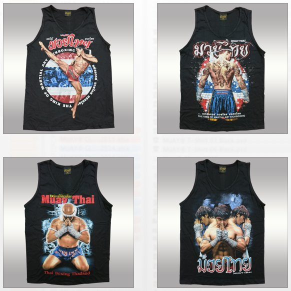 Muay Singlet Muay Thai Original Warrior