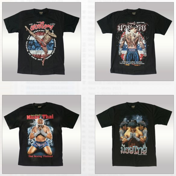 Muay T-shirt Muay Thai Original Warrior