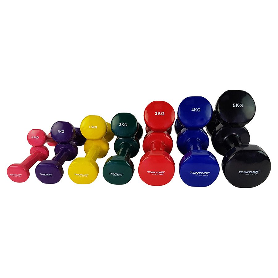 Dipped Dumbells 5 kilo